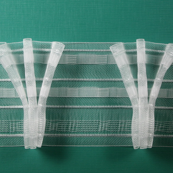 Тесьма веер 3 складки 100мм —  1: 2,5    арт. 20295 /100
