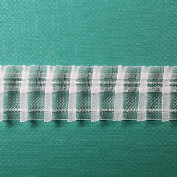 Тесьма равномерной сборки 50мм- 1:2 арт. 20411