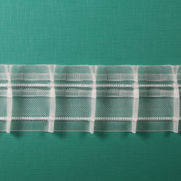 Тесьма равномерной сборки  50мм —  1:1,5       арт. 20443